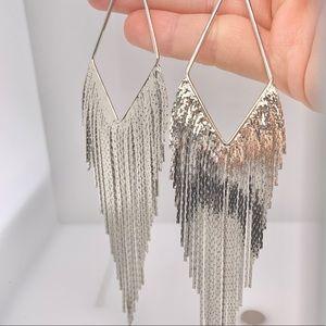 NWT Silver Fashion Dangle / Drop Earrings